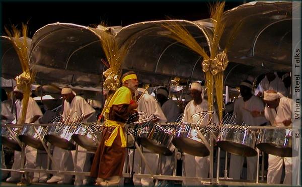 Clive Bradley with Desperadoes Steel Orchestra